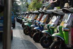 Tuktuks Bangkok, Thailand