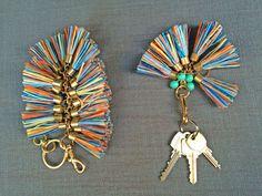 Designer DIY: Holst & Lee Bag Charm - The Stripe