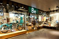 Be store. Shopping In Barcelona, Cool Store, Modern Brands, Gadgets, Woman, Clothing, Accessories, Fashion, Centre