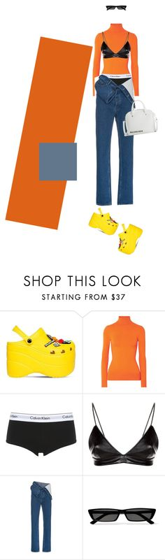 """Porra no olho"" by takenuser ❤ liked on Polyvore featuring Balenciaga, JoosTricot, Calvin Klein Underwear, Helmut Lang, Y/Project and fashionWeek"