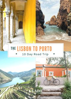 Amazing places to stop on your road trip through Portugal.  This 10 day itinerary will take you from Lisbon to Porto with the best places to stop in between- map included!. | Things to do in Portugal | Obidos | Fatima | Sintra | Douro Valley | Coimbra  #Portugal  #travel #itinerary