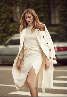 OP is Banana Republic's Global Style Ambassador - Credit: Olivia Palermo Official Olivia Palermo Outfit, Estilo Olivia Palermo, Olivia Palermo Lookbook, Olivia Palermo Style, Global Style, Fashion Mode, London Fashion, White Fashion, Banana Republic