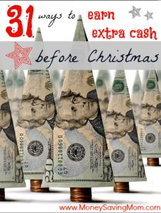 31 ways to earn extra money before Christmas