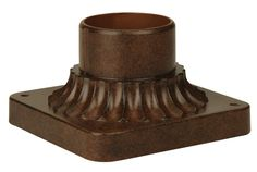 """Craftmade Z200 5.88"""" Wide Square Post / Pier Mount"""