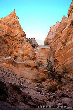 Tent Rocks Canyon, New Mexico....great hiking, fabulous views