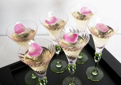 Party drinks from London caterer and Party Organiser | By Word of Mouth - Party Design and Event Catering