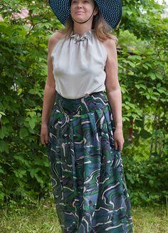 Tops, Skirts, Design, Fashion, Silk Fabric, Beautiful Patterns, Woman Clothing, Monochrome, Fashion Women