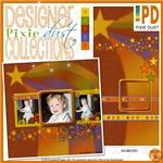 R2R Pixie Dust: Autumn Stars By Janice On November 2, 2012  Add sparkle to your autumn pages.