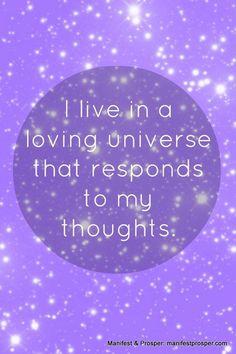....loving Universe....