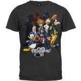Kingdom Hearts - Hearts Group T-Shirt - Large
