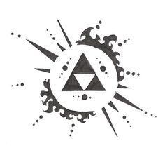 Zelda Triforce Tattoo | Zelda symbol by ~electrichead11 on deviantART