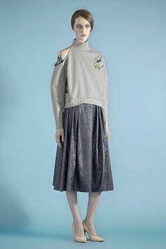 Vika Gazinskaya Fall 2014 Ready-to-Wear Collection Slideshow on Style.com