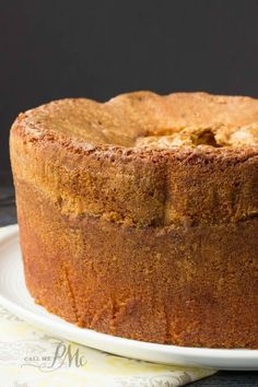Mile High Pound Cake recipe
