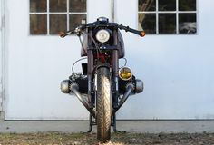 """caferacerpasion: """" BMW R100S '76 Cafe Racer by 46Works 