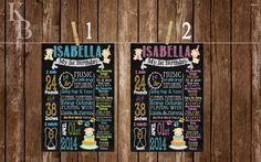 *** Puppy Birthday Chalkboard***   Digital File Only- No items are being shipped- Item will be emailed to you for personal use only.  IMPORTANT