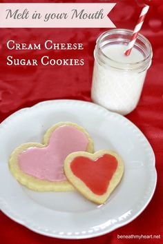 {Melt in your Mouth!} Cream Cheese Sugar Cookies