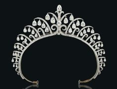 An Amazing Art Deco Diamond Tiara by Cartier