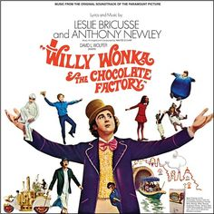 Willy Wonka And The Chocolate Factory: Music From The Original Soundtrack Of The Paramount Picture - Various Artists on Colored LP
