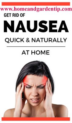 Learn how to get rid of nausea quick and naturally at home. Home Remedies For Nausea, Natural Home Remedies, Beauty Tutorials, Beauty Hacks, Get Rid Of Nausea, Anxiety Disorder Symptoms, Nausea Relief, Fat Foods, Eat Fat