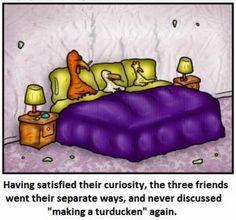 The turducken. http://ift.tt/2gscMEj #lol #funny #rofl #memes #lmao #hilarious #cute