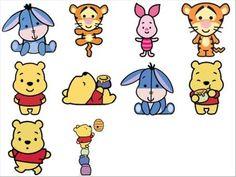 pooh cuties - Pesquisa Google