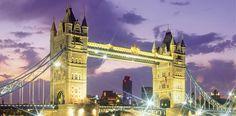 Großbritannien England London Tower Bridge 377 euro mot flig etc.