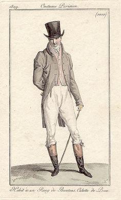 A practical outfit. Costume parisien, 1810