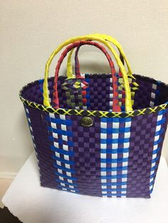 Wire Crafts, Minne, Baskets, Tape, Packing, Plastic, Tote Bag, Fashion, Bags
