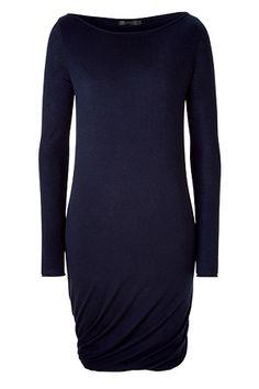 Donna Karan Blue Cashmere Dress