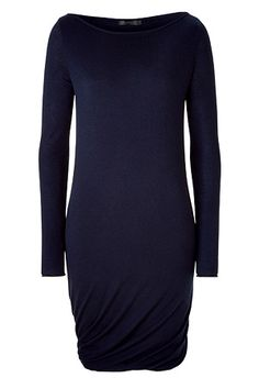 DONNA KARAN - Ink Blue Cashmere Dress