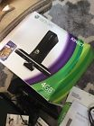 Microsoft Xbox 360 S with Kinect 4GB Black Console 5 games EUC Manuals