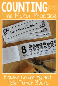 Counting Books 1 10 Make Your Own Number Book For