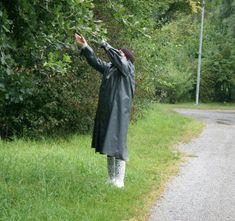 Rubber 503 Rubber Doll, Rain Wear, Raincoat, Fashion, Fume Hood, Rain Jacket, Moda, Rains Clothing
