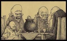 John Kenn Mortensen's Post-It Monstres