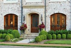 Dream Home: Exterior Brick Treatments, German Smear   | The Style Emporium |
