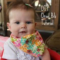 Has your baby begun teething? Has she taken the trip to droolsville like mine has? Here's the evidence: Once she started drooling all over the place, I knew I had to come up with a solution to limit the number of soaking wet onsies that were being thrown into the laundry. I decided to make…