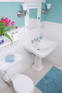 Bathroom Floor Tiles, Bathroom Renos, Basement Bathroom, Bathroom Colors, Bathroom Designs, White Bathroom, Master Bathroom, Bathroom Plants, Tile Floor