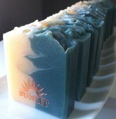 Handmade Soap - Fresh Clarifying Herbal Scented Artisan Soap - Zen Garden Soap. $6.50, via Etsy.