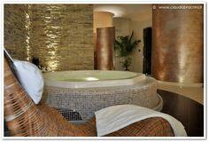 vasca idromassaggio 6 posti - bagno turco e doccia a chiocciola