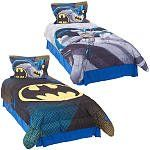 Batman Great Gotham Reversible Twin Comforter and Sheets Set //Price: $77.29 & FREE Shipping //     #bedding sets