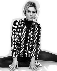 """Brix Smith Start: """"Edie Sedgwick was my style icon in my early twenties"""" Life Is Beautiful, Beautiful People, Edie Sedgwick, Black White Art, My Style, Blouse, Warhol, Beauty, Tops"""