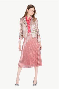 www.twinset.com ru-RU iubk-plnstiu-ukrshnn-pitkmi-p10892?s=S&c=496 Midi Skirt, Skirts, Fashion, Moda, Midi Skirts, Fashion Styles, Skirt, Fashion Illustrations