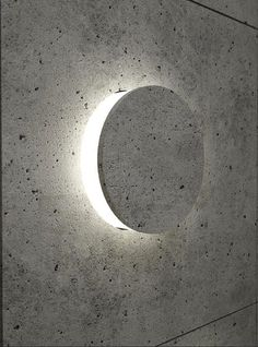 Dadanius Design - Concrete wall light - Sienos sviesos: Lighting Architecture…