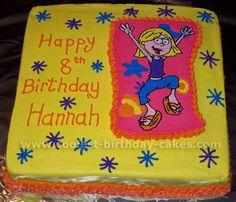 Lizzie McGuire Cake