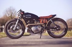 Sexta Insana: Suzuki GN 400 Old Empire Motorcycles | Garagem Cafe Racer