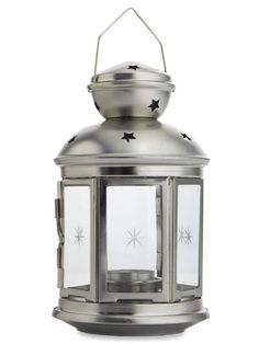 Light up your patio, porch, deck & more with these fabulous & frugal tea light lamps! $4, IKEA