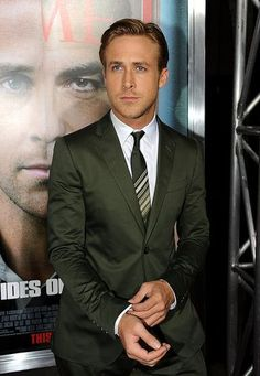 Ryan Gosling in Gucci - My inspiration to upgrade my wardrobe.