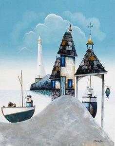 gary walton artwork   best price for Lighthouse Views by Gary Walton - Art For All, art ...