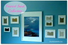 Love this Framed Sand Collection (Vacation Sand Art) from Free Stylin Beth!