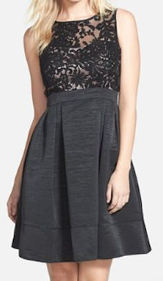 lace fit and flare dress  http://rstyle.me/n/tzqm6pdpe